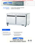 AAUC60F Spec Sheet