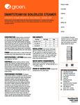 Groen (2) SSB-5GF Spec Sheet