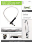 Stainless Steel Flex Hose and Grip 600FPRH44LL Specsheet