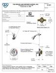 T&S B-3201 Spec Sheet