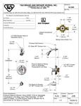 T&S B-3300 Spec Sheet
