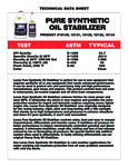 lucas Oil Pure Synethetic Oil Stabilizer Specs