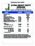 Lucas Oil Xtra HD Grease Tub Specs