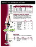 Tomlinson Simpli-Flex Ice Cream Cone Dispensers and Rotary Stands specsheet