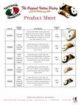 Vaccaro Spec Sheet