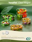 DW Finepack Versapak Hinged Containers