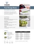 Vigor Food Storage Box