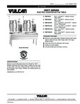 Vulcan F31898 VEKT Series Electric Counter Kettle Table Specsheet