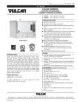 Vulcan F37487 C24EO Series Electric Boilerless Connectionless Steamer Specsheet
