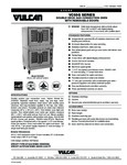 Vulcan F47155 VC55G Series Double Deck Gas Convection Oven with Removable Doors Specsheet
