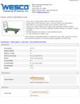 Wesco 934272272 Truck Specsheet