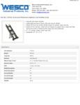 Wesco 934272412 Hand Truck Specsheet