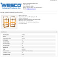 Wesco 934272952 Furniture Mover Specsheet