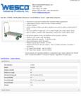 Wesco 934273605 Truck Specsheet