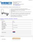 Wesco 934350028 Truck Specsheet