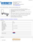 Wesco 934350031 Truck Specsheet