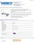 Wesco 934350037 Truck Specsheet