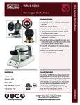WMB400X-spec sheet