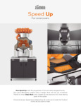Zumex Speed Up Spec Sheet