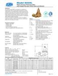 Zurn REG-600XL Specsheet