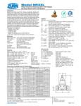 Zurn REG-NR3XL Specsheet