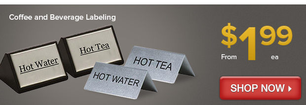Coffee and Beverage Labeling