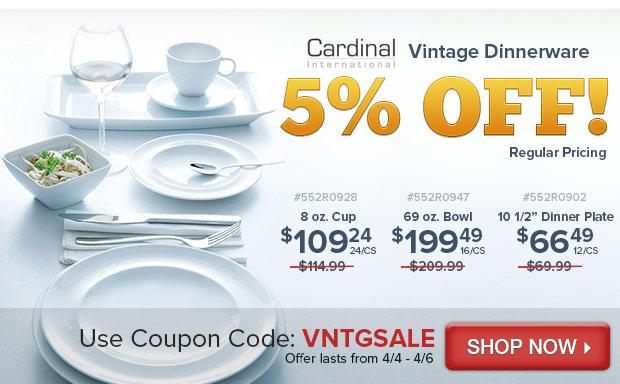 Cardinal Vintage Dinnerware