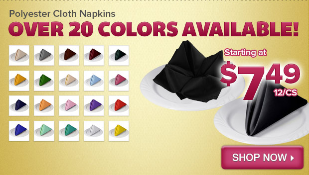Polyester Cloth Napkins