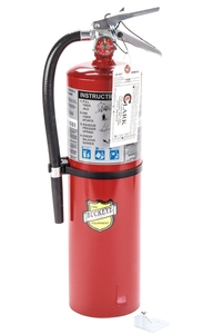 buckeye 10 lb. abc fire extinguisher - rechargeable tagged - ul