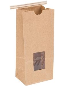 Multi Purpose Kraft Paper Ziplock Bag Astm Stand Up Coffee Bags With Valve