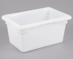Cambro 12189P148 12 x 18 x 9 White Poly Food Storage Box