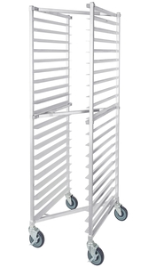 keep your kitchen running smoothly with the regency 20 pan end load nesting sheet pan rack