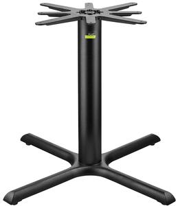 FLAT Tech CT X Auto Adjustable Black Table Base - Adjustable table bases for restaurants