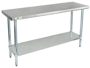 This Work Table Features A Durable Stainless Steel Top Shelf To Ensure A  Long Service Life In Your Business. Itu0027s Perfect For A Variety Of Tasks,  Making It ...