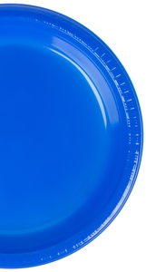 When your event requires reliable tableware that\u0027s disposable too the Creative Converting 28314721 9\  Cobalt blue plastic dinner plate is the way to go!  sc 1 st  WebstaurantStore & Creative Converting 28314721 9\