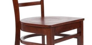Lancaster Table Amp Seating Mahogany Finish Wooden Ladder