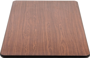 Easily Match The Decor Or Color Scheme Of Your Establishment With The  Lancaster Table U0026 Seating Reversible Walnut And Oak Table Top.