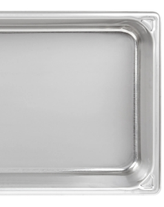 'Vollrath 77400 Full Size Hinged Dome Steam Table / Hotel Pan Cover' from the web at 'https://cdnimg.webstaurantstore.com/images/expanded-descriptions/2/7/275165/189201fe-5056-b061-b63b2bd6091ffae9.jpg'