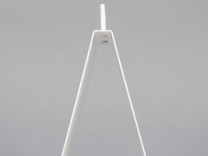 White Elkay Plastics DPSTAND Metal Saddle Pack Stand