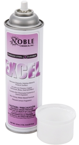 Noble Chemical 18 oz  Excel Stainless Steel Cleaner / Metal Polish - 12/Case