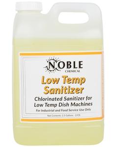 Noble Chemical 2.5 Gallon / 320 oz. Low Temp San Dish Washing ...