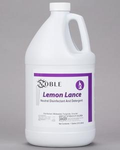 Noble Chemical Lemon Lance 1 Gallon / 128 oz. Disinfectant ...