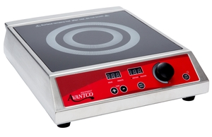 convenience and safety meet technology and performance in the avantco ic1800 countertop induction range