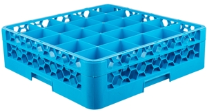 Streamline your warewashing operations with the Carlisle RG25-114 25  compartment glass rack.