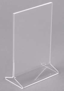 High Quality Place Important Information Where It Will Be Most Visible For Your Guests  With This Clear Acrylic Displayette.