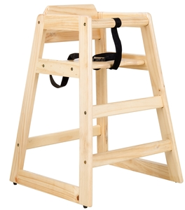 Provide Your Younger Guests A Safe Place To Sit With The Lancaster Table Seating Stacking Restaurant Wood High Chair