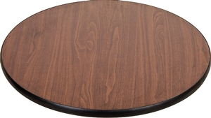 Lancaster Table Seating 30 Laminated Round Table Top Reversible