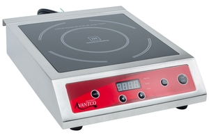 convenience and safety meet technology and performance in the avantco ic3500 countertop induction range