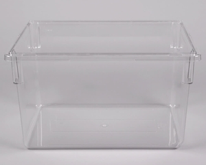 Cambro 182615cw135 Clear Camwear Polycarbonate Food Storage Box 26 X 18 15