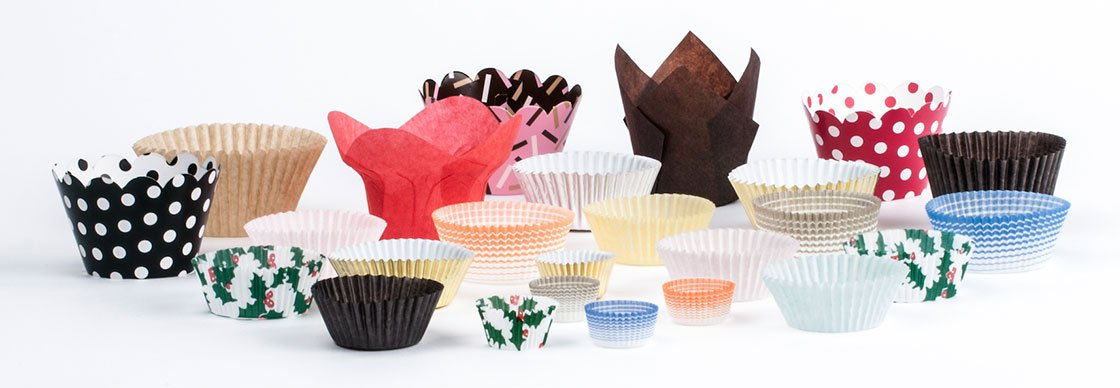 Types and Styles of Baking Cups